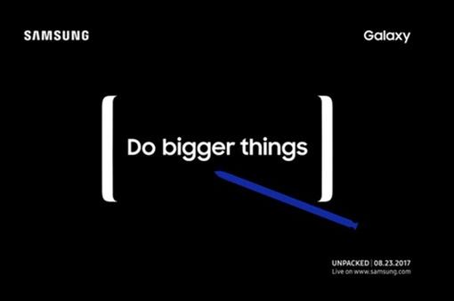 Samsung gửi giấy mời, Galaxy Note 8 chuẩn bị lộ diện?