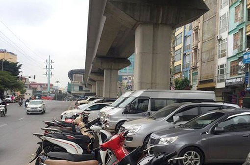 Hà Nội được cho phép trông, giữ xe dưới gầm cầu