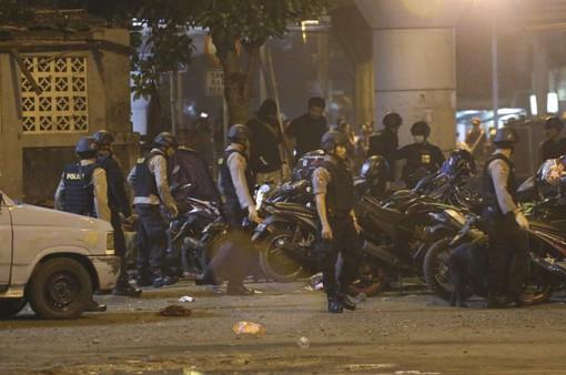 Tổng thống Indonesia thăm địa điểm vụ nổ bom