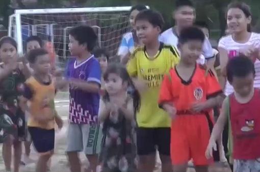 Thông điệp nhân văn từ giải bóng đá Nhi đồng