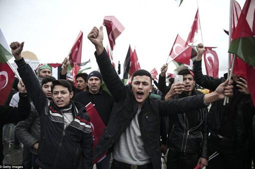 Mỹ tiếp tục hứng chịu làn sóng phản đối tuyên bố về Jerusalem