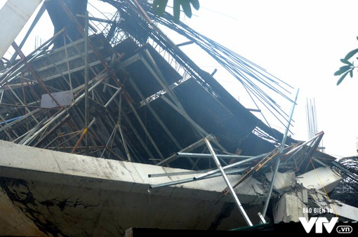 Tìm nguyên nhân trường mầm non tại Hà Nội đổ sập