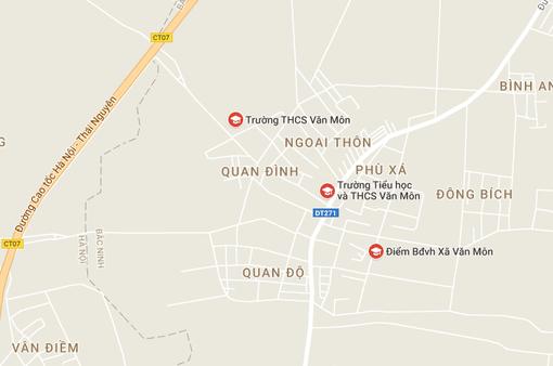 NÓNG: Sập lan can trường Tiểu học Văn Môn (Bắc Ninh), 13 trẻ nhập viện