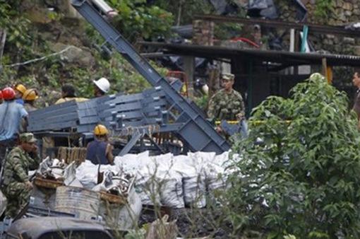 Sập hầm than tại Colombia, 8 người chết và 5 người mất tích