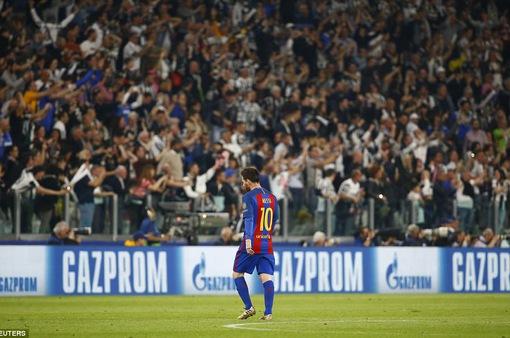 Tứ kết Champions League, Juventus 3-0 Barcelona: Messi và các đồng đội thua đậm ở lượt đi