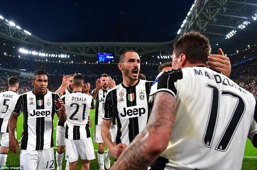 Vượt qua Monaco, Juventus xuất sắc giành quyền vào chung kết Champions League