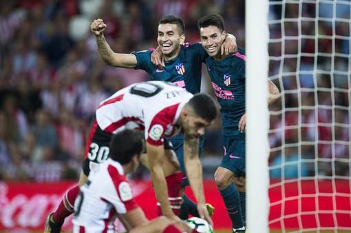 Vòng 5 giải VĐQG Tây Ban Nha: Atletico Madrid xuất sắc đánh bại Athletic Bilbao