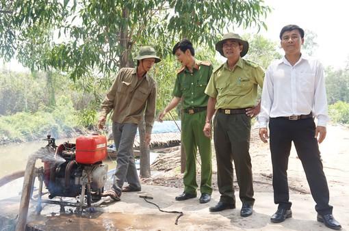 Long An: Trang bị 65 máy chữa cháy phòng chống cháy rừng