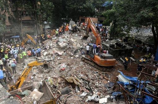 Sập tòa nhà 4 tầng tại Ấn Độ, ít nhất 8 người thiệt mạng