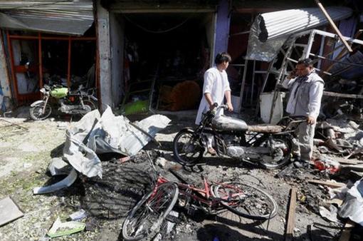 Đánh bom xe tại thủ đô Afghanistan, 35 người thiệt mạng