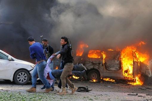 Đánh bom xe gây thương vong lớn tại Syria