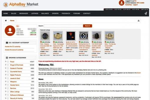 Mỹ và Hà Lan đóng cửa 2 chợ đen lớn trên mạng