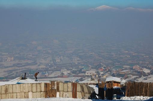 Cuộc sống trong khói bụi tại Mông Cổ
