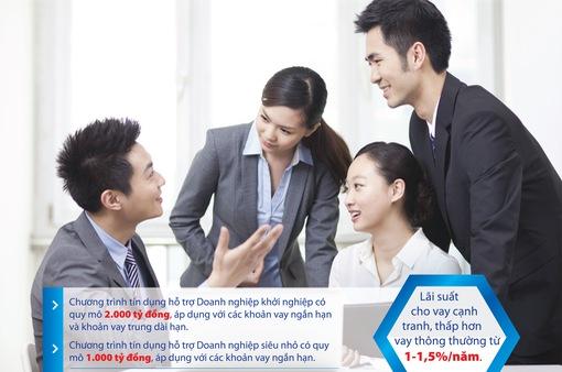 Ngân hàng BIDV dành 3.000 tỷ đồng ưu đãi cho doanh nghiệp