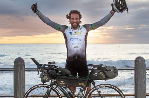 Kỷ lục Guinness mới về đạp xe vòng quanh thế giới