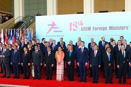 Hội nghị Bộ trưởng Ngoại giao ASEM 13