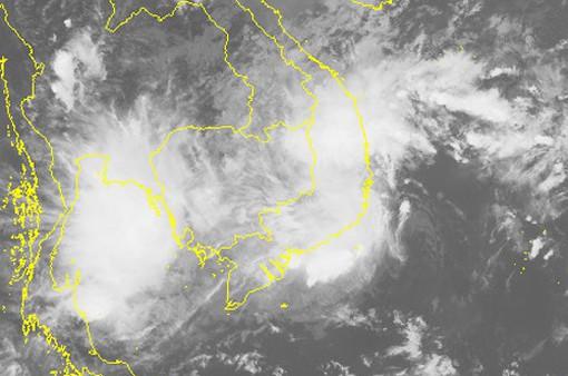 Áp thấp nhiệt đới đổ bộ Ninh Thuận - Bình Thuận
