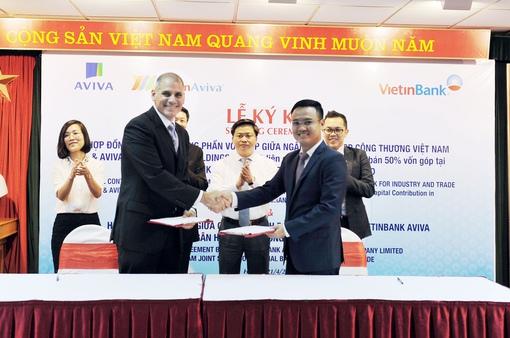 Aviva nắm giữ toàn bộ cổ phần của liên doanh tại Việt Nam