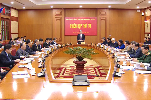 Chủ tịch nước chủ trì phiên họp thứ 4 Ban Chỉ đạo Cải cách tư pháp Trung ương