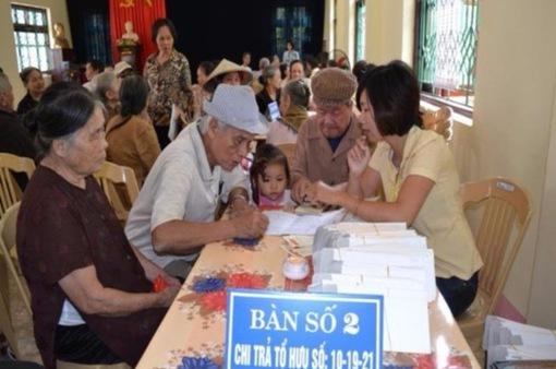 Dự kiến điều chỉnh lương hưu, trợ cấp bảo hiểm xã hội