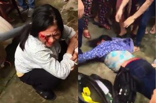 Hai phụ nữ bị hành hung vì nghi bắt cóc trẻ em ở Hà Nội