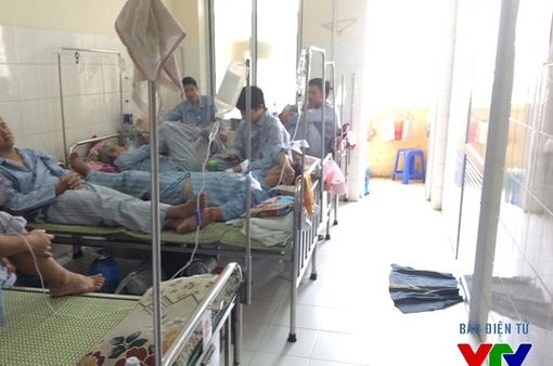 Tiền Giang: Số người nhập viện do đánh nhau tăng cao