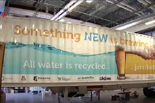 Mỹ: Dùng nước thải để sản xuất… bia