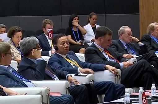 Bộ trưởng Tô Lâm dự khai mạc tuần lễ công nghệ quốc tế Singapore