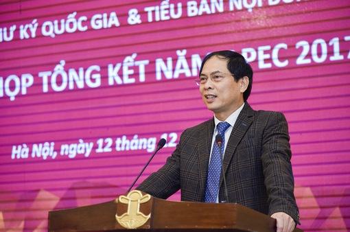 Cần phát huy, tăng thêm hiệu ứng lan tỏa của Năm APEC 2017