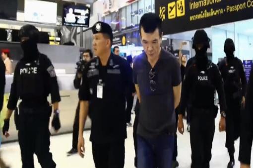 Bắt giữ đối tượng Malaysia buôn lậu ma túy tại Thái Lan