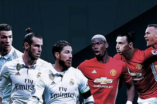 Real Madrid và Manchester United chuẩn bị trước trận tranh Siêu cúp châu Âu