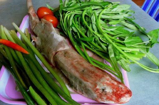 Thưởng thức đặc sản cá chèo bẻo nấu lẩu mẻ