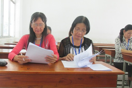Bắt đầu triển khai công tác chấm thi THPT quốc gia 2017