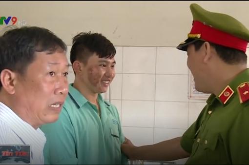 Thăm các chiến sỹ bị thương trong vụ cháy ở Lâm Đồng