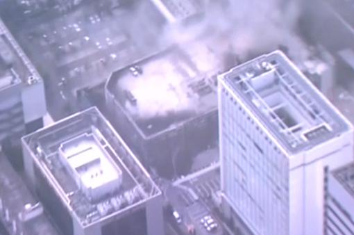 Cháy lớn tại một nhà kho ở Nhật Bản