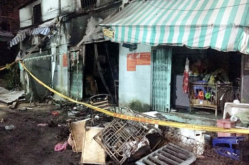Vụ cháy tại TP.HCM khiến 2 bà cháu tử vong: Đám cháy nhỏ nhưng bùng phát nhanh