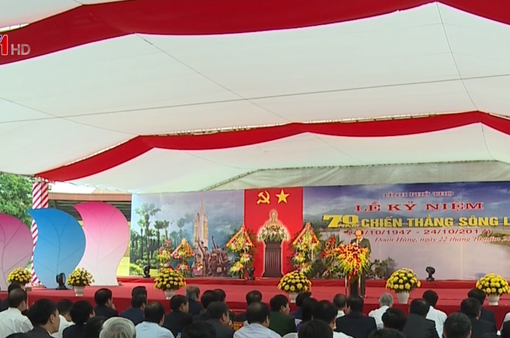 Phú Thọ kỷ niệm 70 năm chiến thắng sông Lô