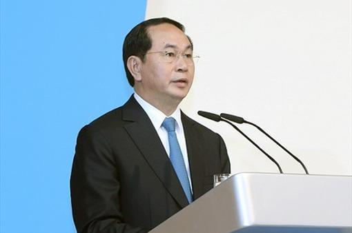 Chủ tịch nước Trần Đại Quang: Quan hệ Việt Nam - Belarus có nhiều tiềm năng để phát triển