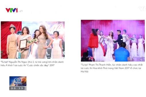 Một số cuộc thi sắc đẹp đang làm xấu vẻ đẹp phụ nữ Việt