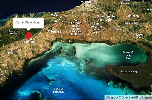 Rơi máy bay quân sự ở Cuba, 8 binh sĩ thiệt mạng