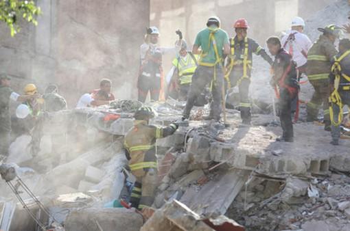 Thương vong tăng trong trận động đất tại Mexico