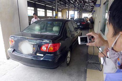 Hàng nghìn ô tô bị từ chối đăng kiểm vì chưa nộp phạt
