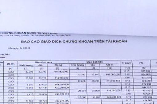 Hà Nội: Khởi tố vụ án hình sự thao túng giá cổ phiếu