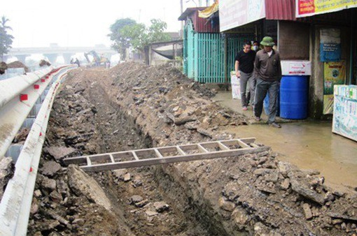 TP.HCM: Xử phạt gần 600 trường hợp đào đường ẩu