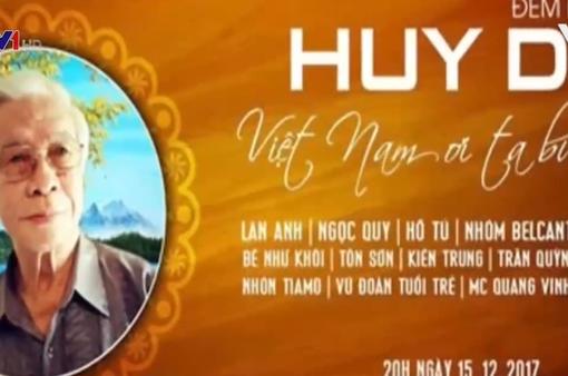 """Chờ đợi """"Đêm nhạc Huy Du - Việt Nam ơi! Ta bước tiếp"""""""