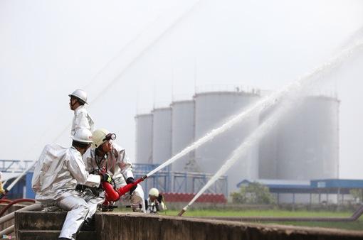 Diễn tập PCCC xăng dầu quy mô lớn tại TP.HCM