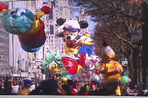 Mỹ thắt chặt an ninh trước lễ diễu hành bóng bay