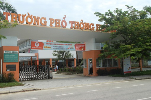 Trường phổ thông Huế Star: 24 phòng học bị niêm phong do nợ ngân hàng