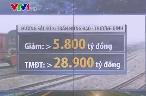 Hà Nội: Sau rà soát, đoạn tuyến đường sắt số 2 giảm hơn 5.800 tỷ đồng