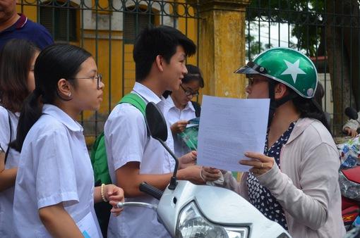 Điểm chuẩn vào trường THPT Chu Văn An cao nhất Hà Nội